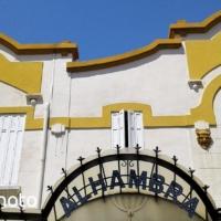 Cinéma de l'Alhambra à l'Estaque - Marseille - France