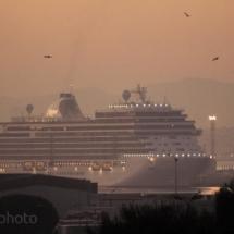 Paquebot soleil levant Marseille - France