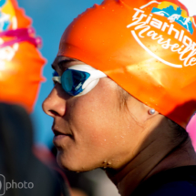 Before Swimming Charlotte Morel - Triathlon Marseille M-L Distances - France
