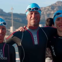 Before SwimmingTriathlon Marseille M-L Distances - France