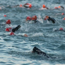 Swimming Triathlon Marseille M-L Distances - France