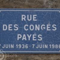 Rue des Congés Payés - Volx - France