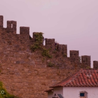 Medieval Wall - Obidos - Portugal
