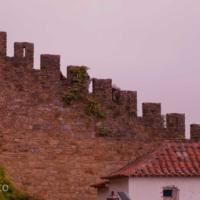 Medieval Wall - Obidos - Portugal