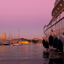 Sunrise - Yacht White Shark - Vieux Port - Marseille - France