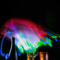Light Painting Bottles