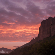 Sunrise - Penitents - Les Mees - France