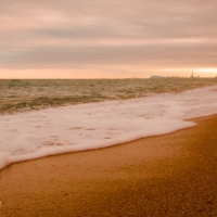 Cloudy Sunset in El Masnou - Barcelona - Spain