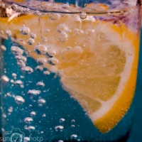 Lemon and Sparkling Water