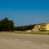 On the way to Portugal - Los Chopos Hostal - Spain