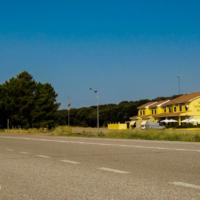 On the way to Portugal - Los Chopos Hostal - Spain