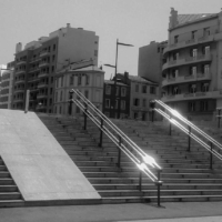Stairs St Charles Rail Station - Marseille - France