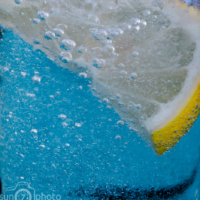 Lemon and sparkling water 1