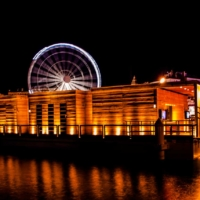 The Big Wheel by night - Marseille - France