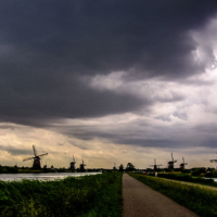 Typical landscape - Dordrecht - Netherlands