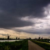 Typical landscape - Dordrecht - Netherlands