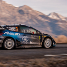 Ford Fiesta WRC - Tideman - Floene - St Leger les Mélèzes - France