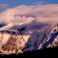 Sommet de Haute-Savoie - France