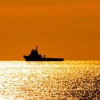 Au large dans l'après-midi dorée - Madrague de Montredon - Marseille - France