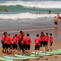 Surfing lessons - Biarritz - France