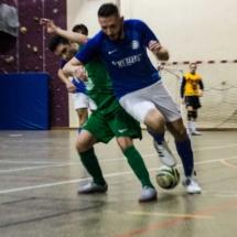 Dribble ! AFC - Gallia Club Uchaud Futsal - Lançon de Provence - France