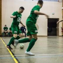 Les Verts contre les Bleus ! AFC - Gallia Club Uchaud Futsal - Lançon de Provence - France