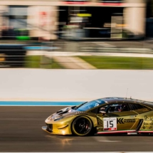Lamborghini Gold N°15 - Blancpain GT Series - Circuit Paul Ricard - Le Castellet - France