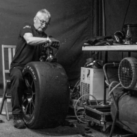 Repairing Tyres - Blancpain GT Series Circuit Paul Ricard - Le Castellet - France