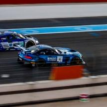 Audi R8 N°5 - Mercedes AMG GT3 N°4 - Blancpain séries - Circuit Paul ricard - France_