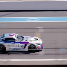 Mercedes AMG GT3 N°13 - Blancpain séries - Circuit Paul ricard - France_