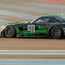 Mercedes AMG GT3 N°43 - Blancpain séries - Circuit Paul Ricard - France_