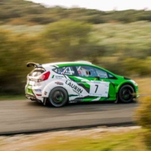 Ford Fiesta - N°7 - Laurin - Marquez - Les Baïsses - Rallye du Mistral - France