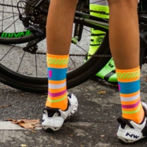 Nice socks for biking - Triathlon M - Istres - France