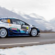 Ford Fiesta N°40 RC1 WRC - Jocius-Mindaugas - St Léger les Mélèzes - France