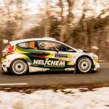 Ford Fiesta N°49 - Vossen-Berkhof - RC2 RALLY2 P3 WRC3 - St Léger les Mélèzes - France