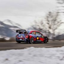 Hyundai i20 N°9 - RC1 WRC - Loeb-Elena - St Léger les Mélèzes - France
