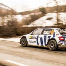 Skoda Fabia RC2 RALLY2 P3 WRC3 - St-Léger-les-Mélèzes - France