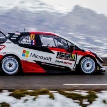 Toyota Yaris N°17 RC1 WRC - Ogier-Ingrassia - St Léger les Mélèzes - France