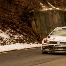 VW Polo - St Léger les Mélèzes - France