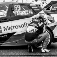Checking Air Pressure Rear - Toyota Yaris N°69 RC1 WRC - Rovanperä-Haltunnen - St Léger les Mélèzes - France