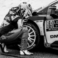 Checking Air Pressure - Toyota Yaris N°69 RC1 WRC - Rovanperä-Haltunnen - St Léger les Mélèzes - France