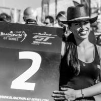 Cheerfull Pirelli Gridgirl N°2 - Blancpain GT Séries - Circuit Paul Ricard - Le Castellet - France