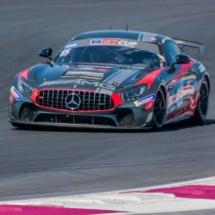 Mercedes AMG N°15 -International-GT-Open - Circuit-Paul-Ricard - France -2