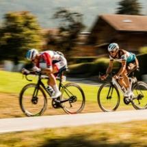 Anthony Turgis N°188 - Oliver Naesen N°35 - Tour de France 2020 - St Jean de Sixt - France - 2