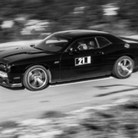Chevrolet Challenger N°21 - BnW - GT Experience - Mont Ventoux - France