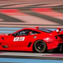 Ferrari 599 N°83 - XX Programme- Circuit Paul Ricard - France