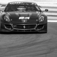 Ferrari 599 XX N°84 - BnW - XX Programme - Circuit Paul Ricard - France-2