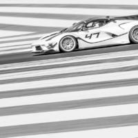Ferrari FXX K Evo N°47 - BnW - XX Programme - Circuit Paul Ricard - France