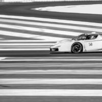 Ferrari FXX N°58 - BnW - XX Programme - Circuit Paul Ricard - France