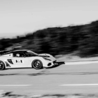 Lotus N°25 - BnW - GT Experience - Mont Ventoux - France